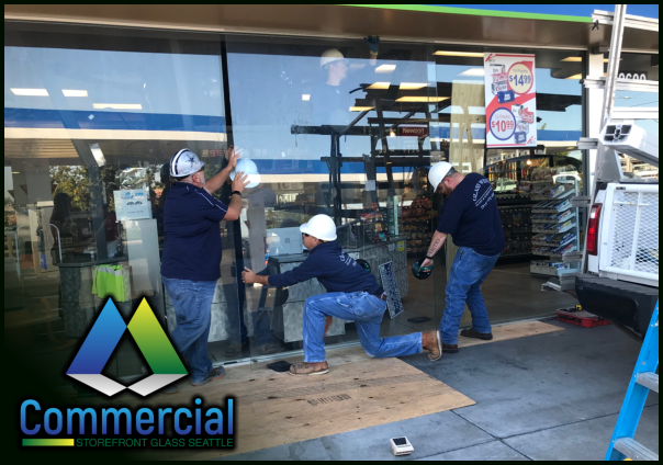 74 commercial storefront glass seattle repair install window replacement 3