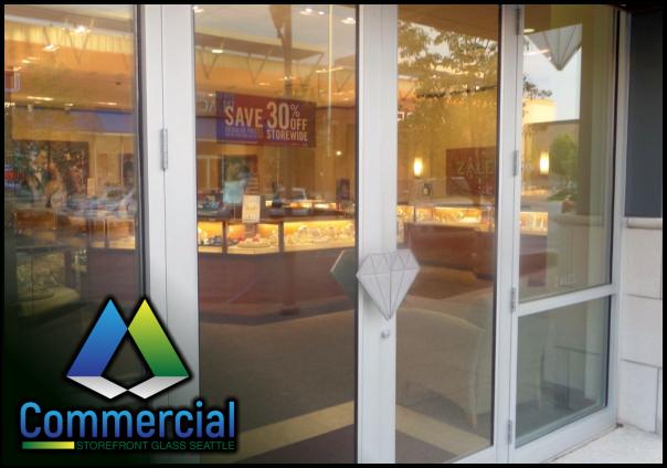 79 commercial storefront glass seattle repair install storefront door repair 2