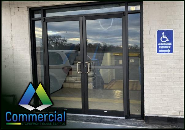 82 commercial storefront glass seattle repair install storefront door repair 1