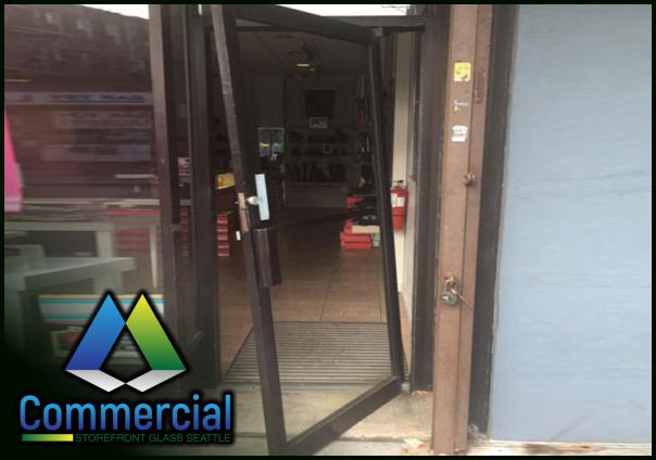 84 commercial storefront glass seattle repair install door repair 1