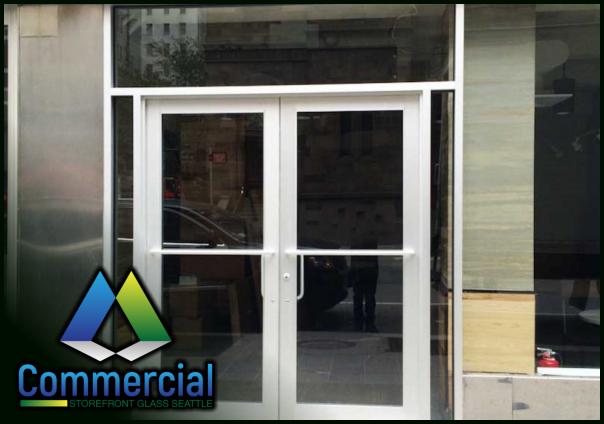 84 commercial storefront glass seattle repair install door repair 3